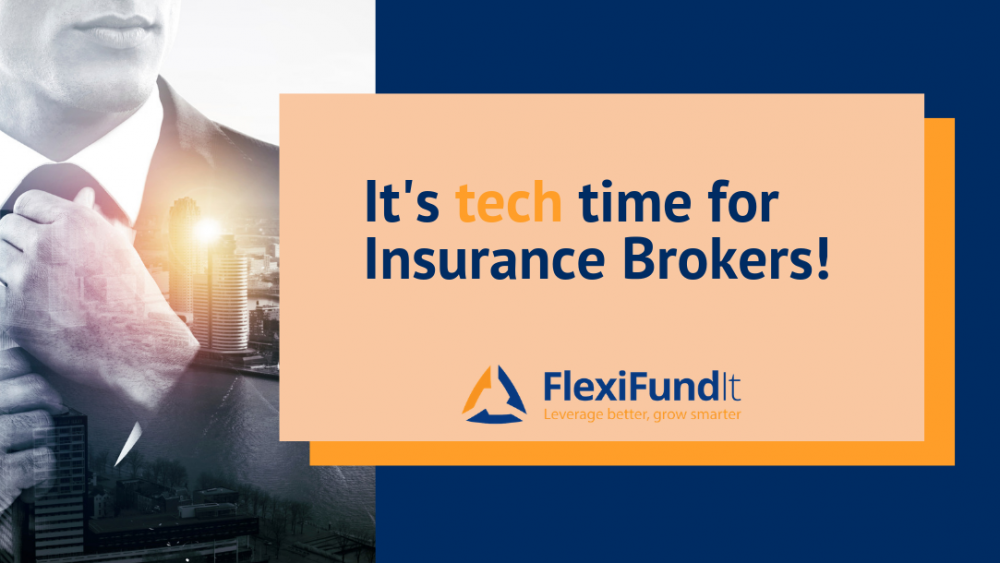Insurance brokers tech time