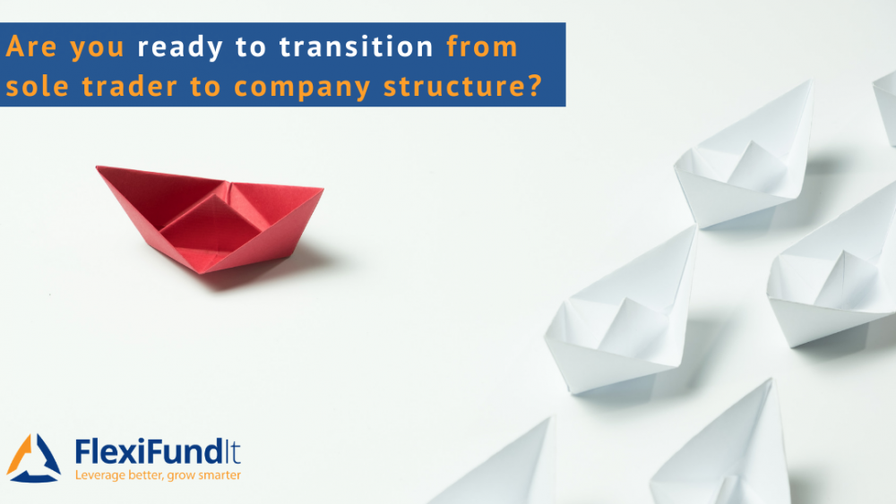 Transition from sole trader to company structure